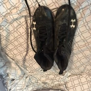 Under Armour cleats 7.5